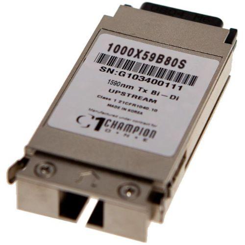 GBIC Single Fiber 80km 1000X59B80S