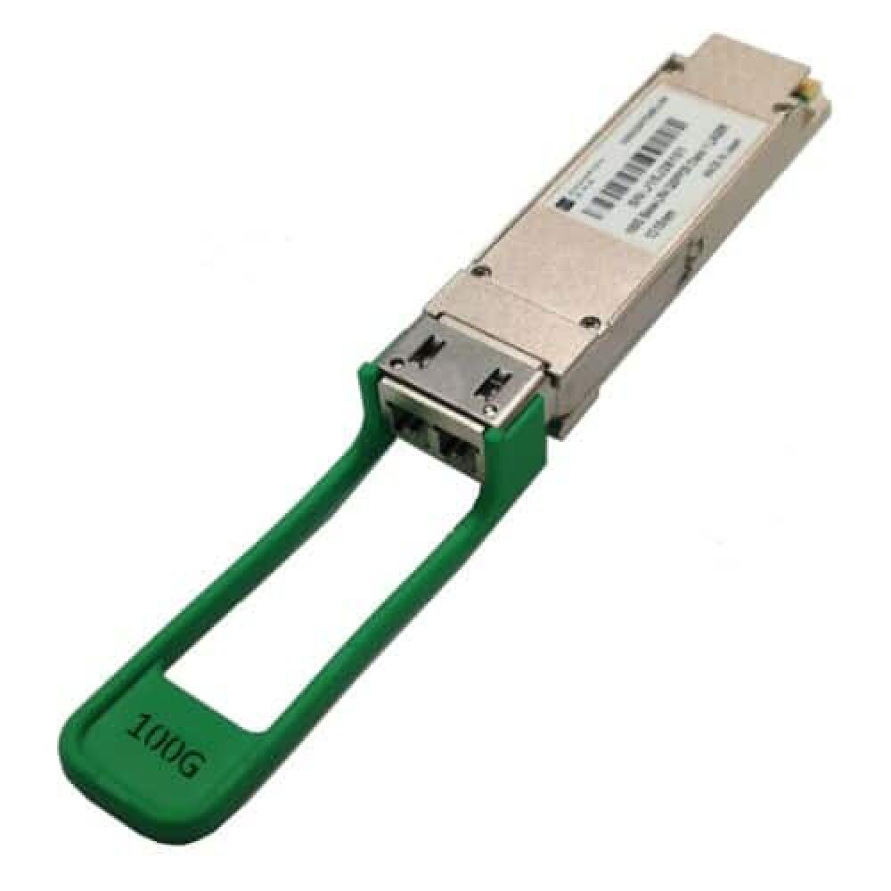 100G QSFP28 Single-Rate 100GBase-LR4 10km SMF LC/UPC connector from Champion ONE