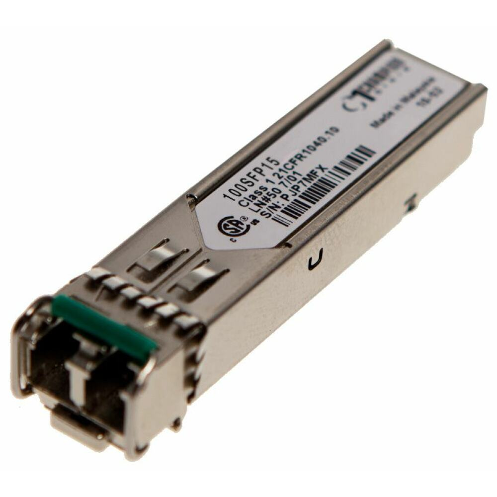 Megabit Ethernet Dual Fiber SFP 1310nm SMF 15km rated from Champion ONE