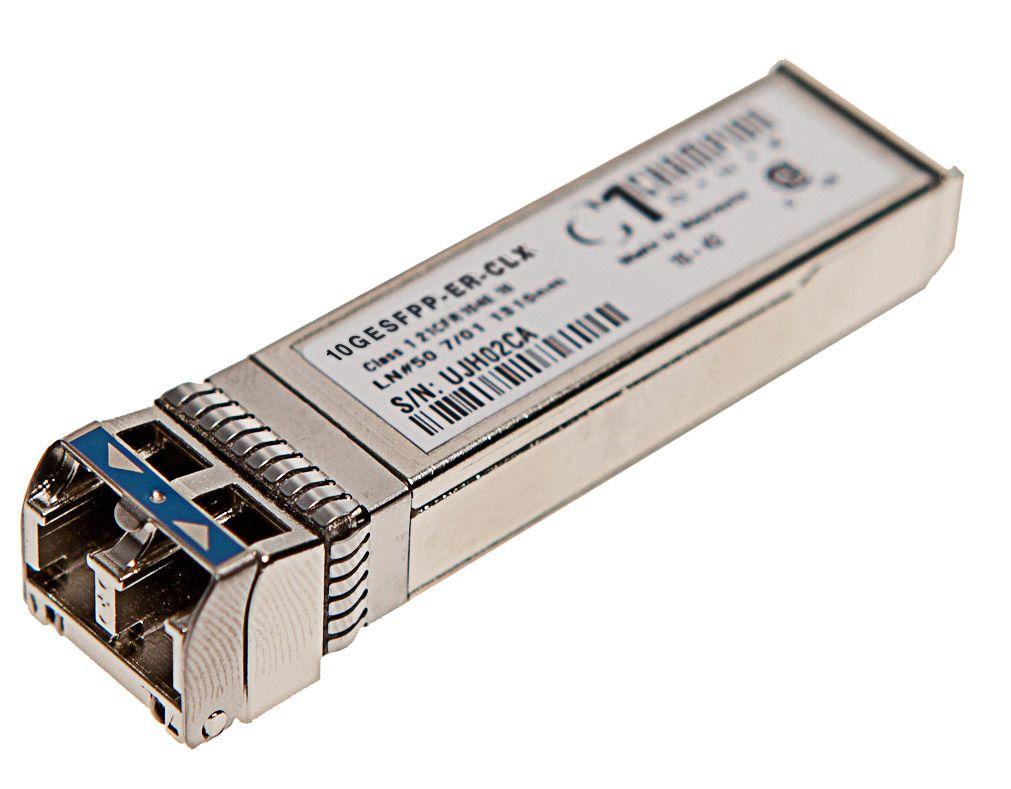 SFP+ 10GBASE-ER 40km Transceiver, Calix compatible 100-01511