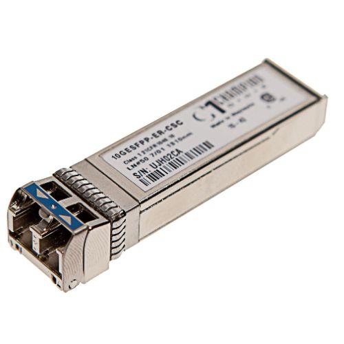 SFP+ 10GBASE-ER 40km Transceiver, Cisco Systems compatible SFP-10G-ER=