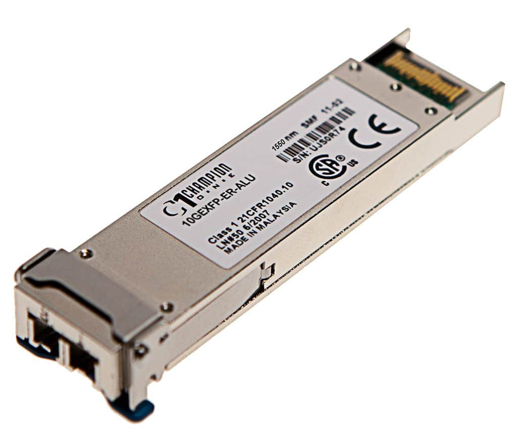 XFP 10GBASE-ER 40km Transceiver, multi-rate, Nokia/ALU compatible 3HE00876AA
