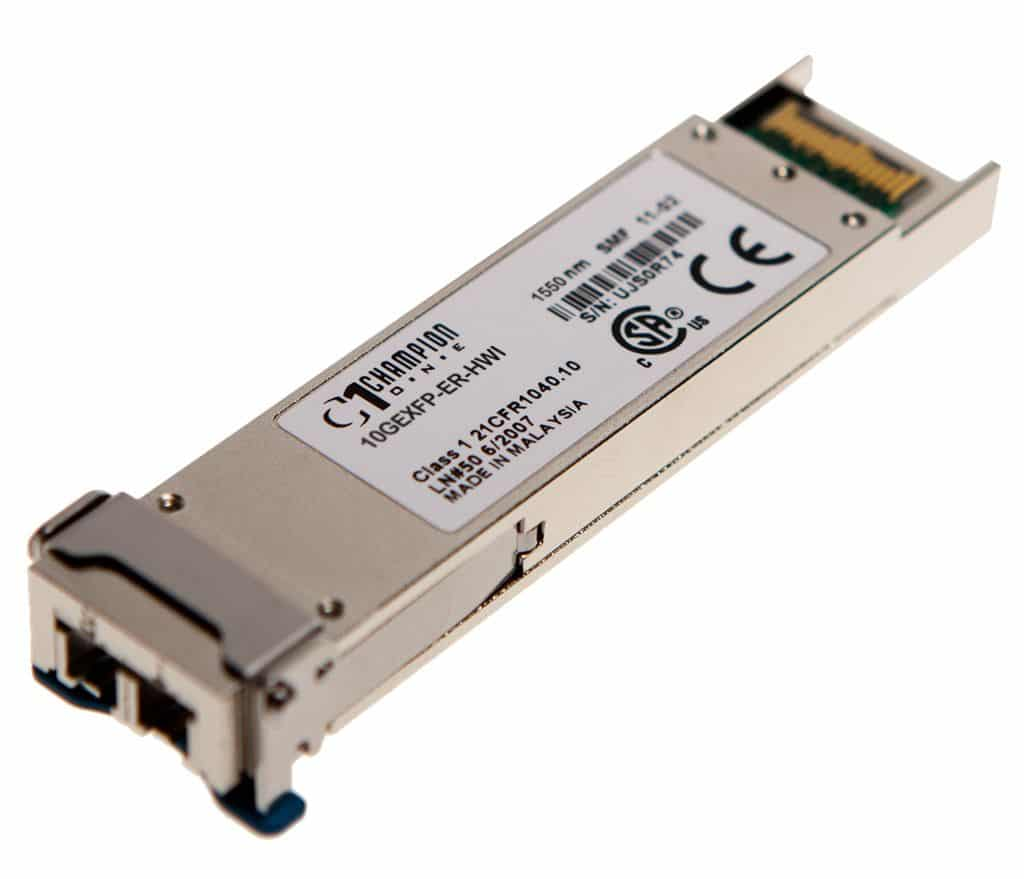 XFP 1550 10GBASE-ER 40km Transceiver, multi-rate, Huawei compatible XFP-SX-LH40-SM1550