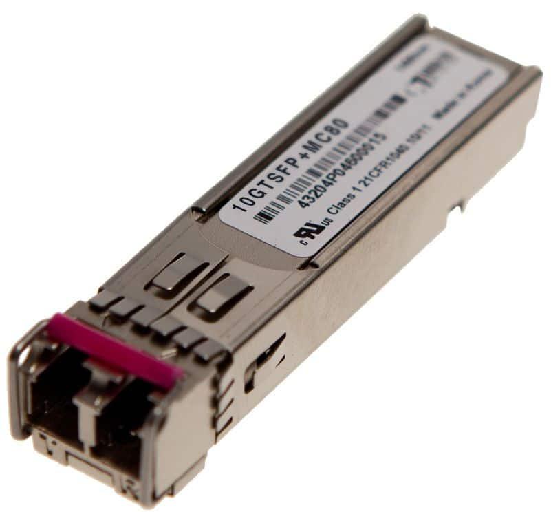 SFP+ Tunable DWDM 80km 10GTSFP+MC80