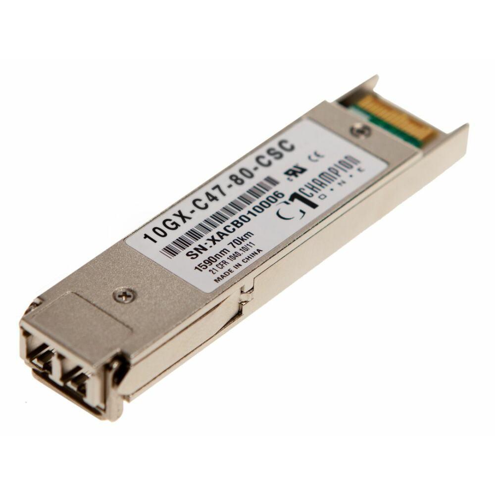XFP 10GBASE-ZR CWDM 1xx0nm 80km Transceiver