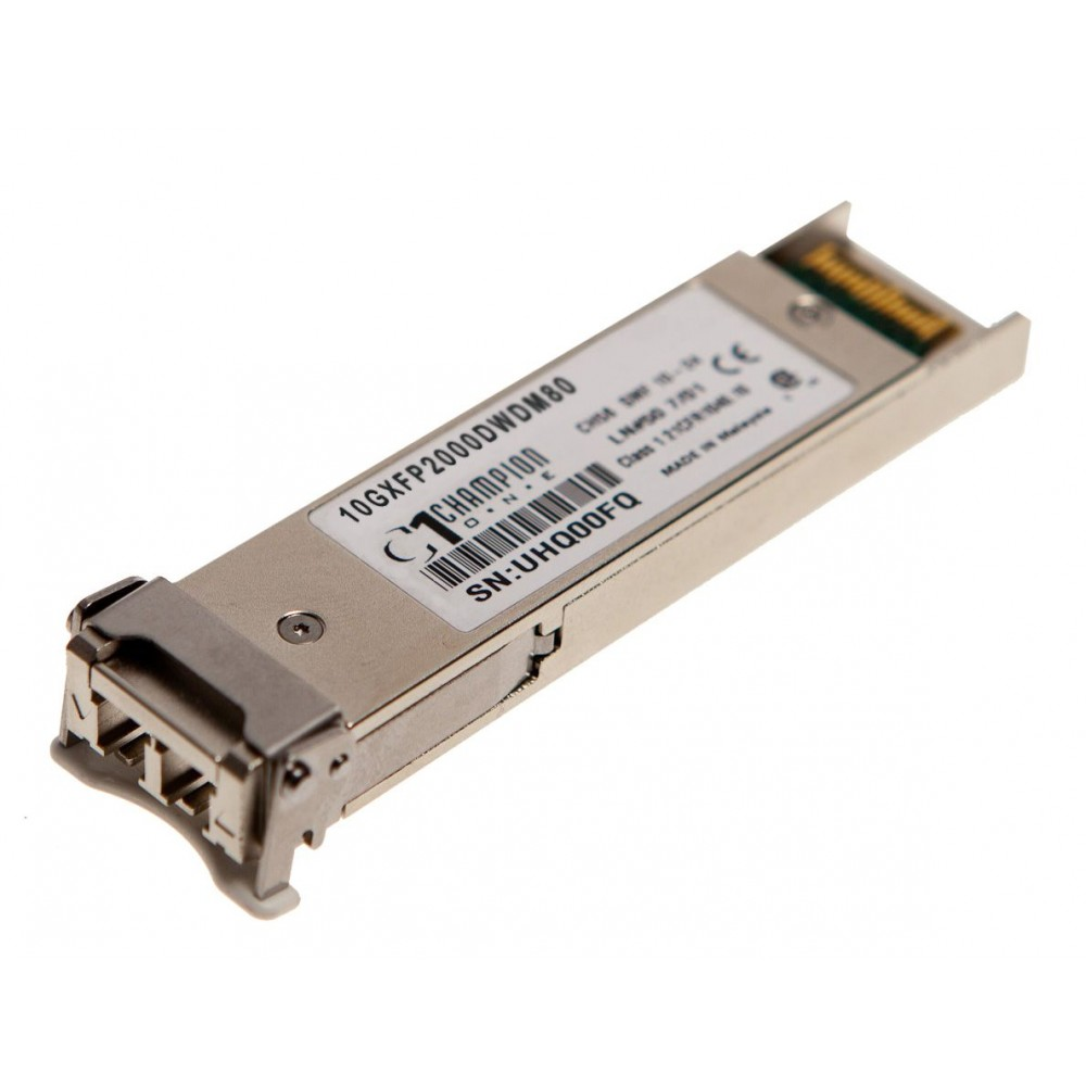 XFP DWDM 80km Transceiver from Champion ONE