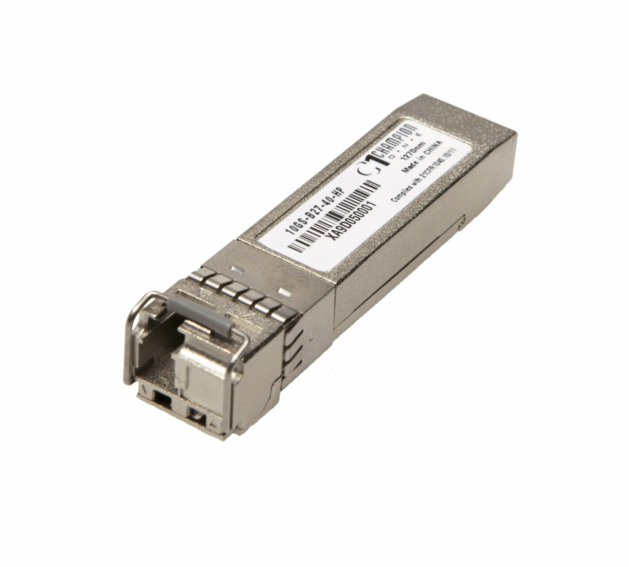 SFP+ SF 10GBase-ER 1270nm 40km Transceiver, HP Systems compatible