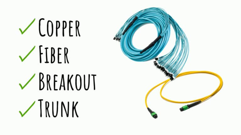 copper, fiber, breakout, trunk cables from champion ONE