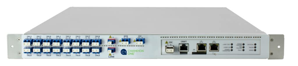 16 Channel Multi-Rate Open Line System, for 40km and 80km distances