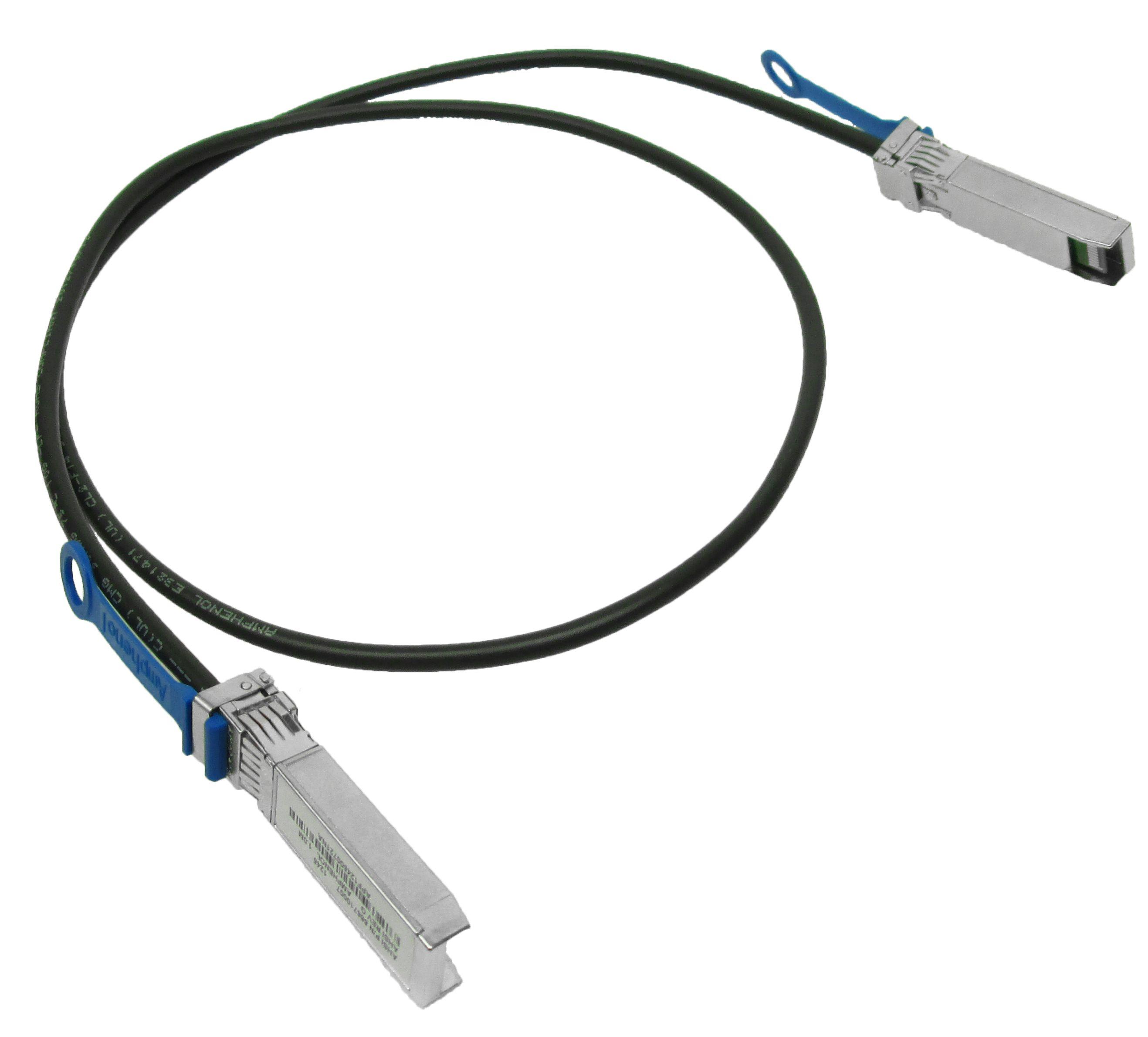 SFP+ DAC 10GBASE-CR 1m, Juniper Networks compatible EX-SFP-10GE-DAC-1M