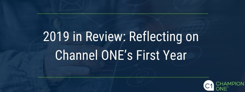 2019 in Review: Reflecting on Channel ONE's First Year