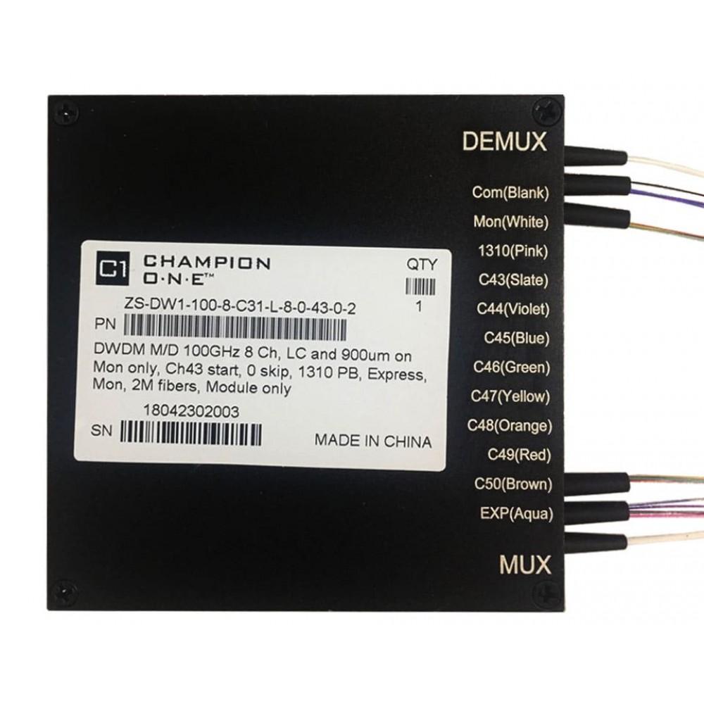 8 Channel DWDM Mux/Demux