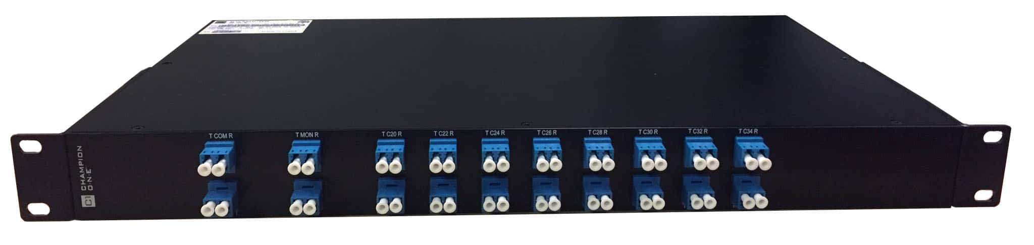 16 Channel DWDM Mux/Demux, ch. 20 start, in 1RU Enclosure