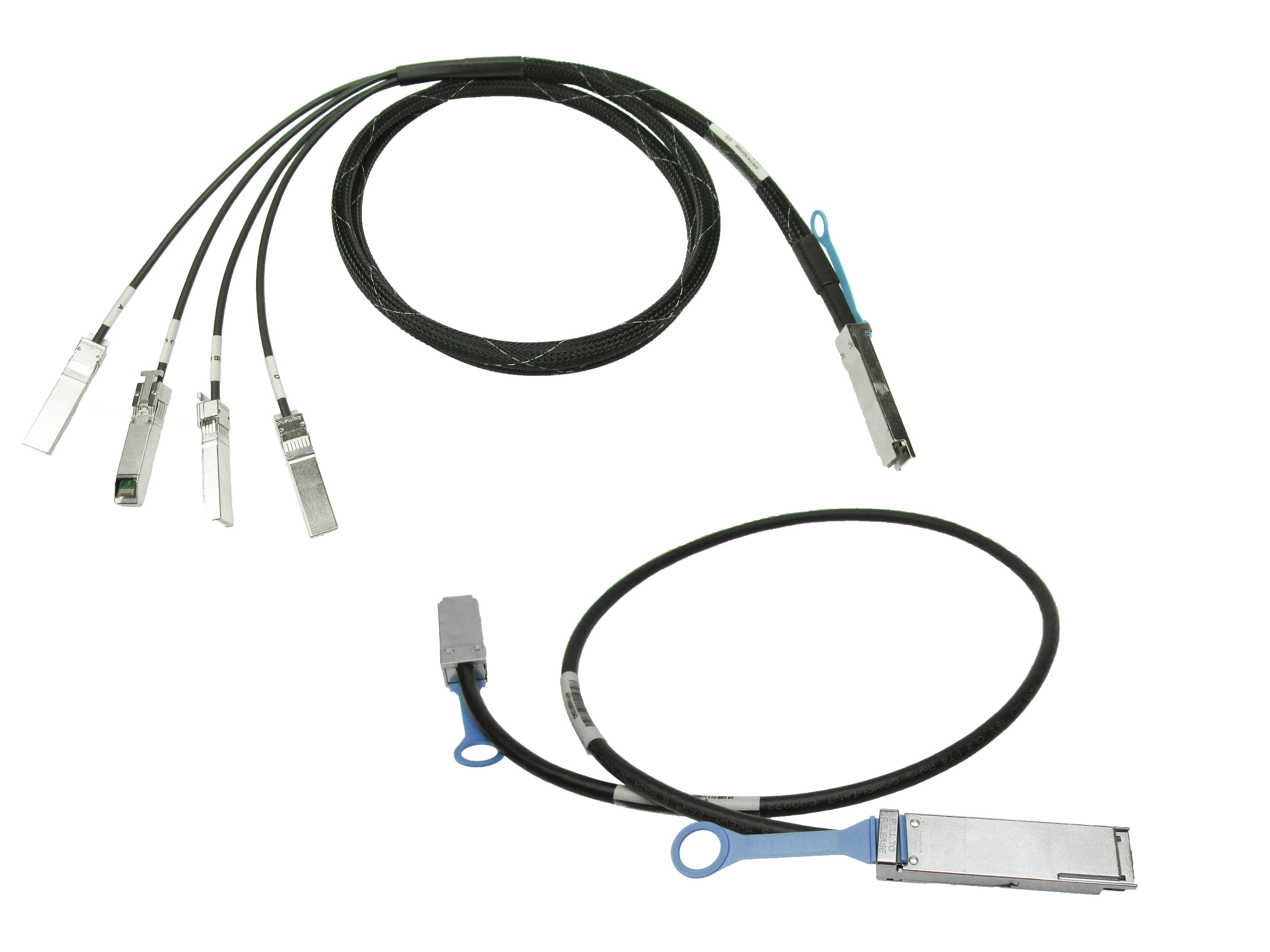 QSFP+ DAC 0.003km 40GQ-4X10S-BO03