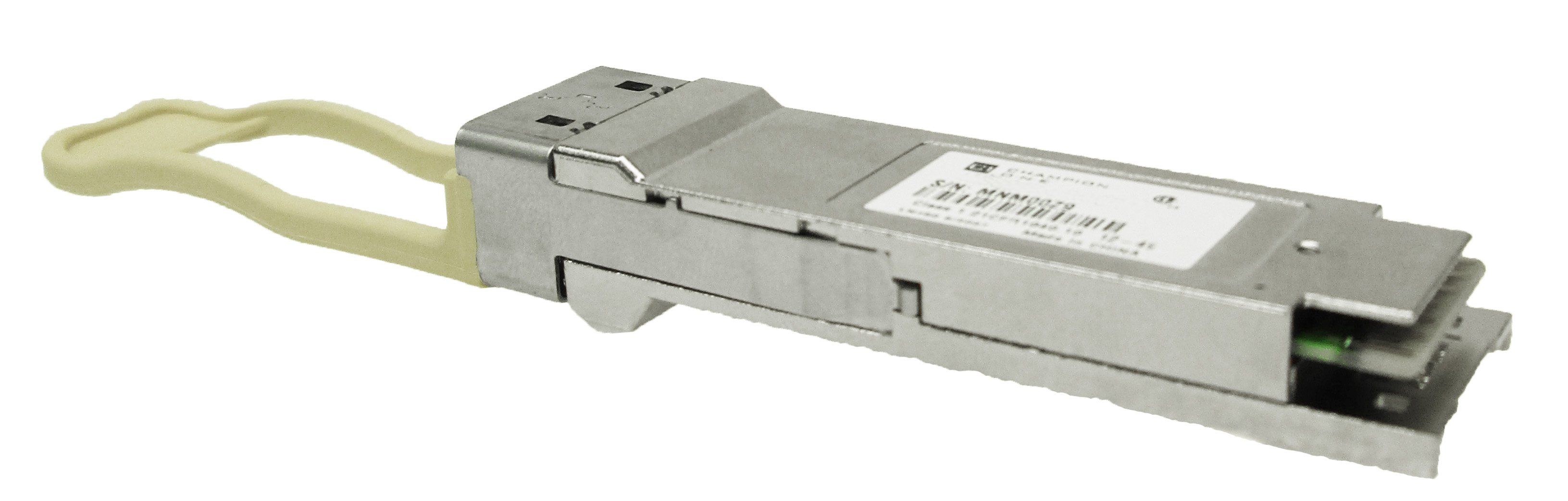 40GBase-PSMLR4 QSFP+, 10km SMF MPO 8-degree angled connector