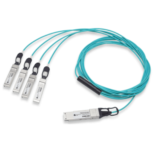 40G QSFP+ to 4x10G SFP+ Breakout Active Optical Cable 1-10m, Arista Compatible