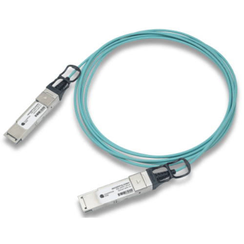 40G Ethernet QSFP+ Active Optical Cable 1-100m, Avaya Compatible