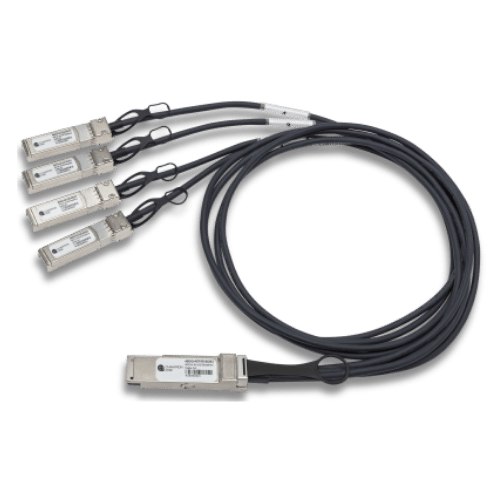 40G QSFP+ to 4x10G SFP+  Breakout Direct Attach Cable 1-10m, Juniper Compatible