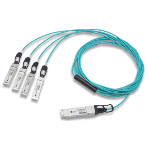 100G QSFP28 to 4x25G SFP28  Breakout Active Optical Cable 1-10m, Juniper Compatible
