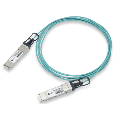 100G Ethernet QSFP28 Active Optical Cable 1-100m, Dell Compatible