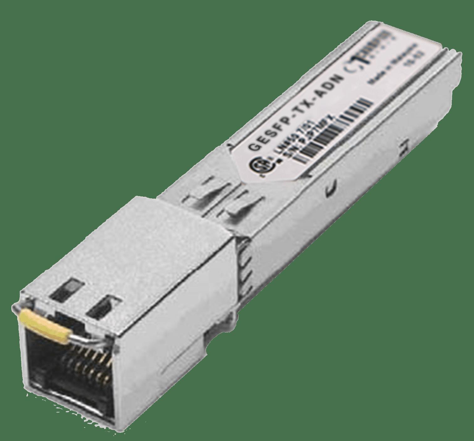 SFP 1000Base-T 100m Transceiver, Adtran compatible 1184561P4