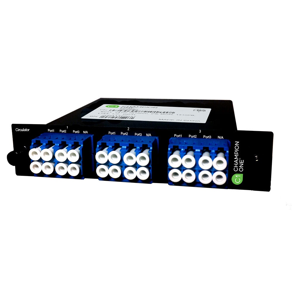 4x 3-Port Circulator 1550nm LGX Enclosure from Champion ONE