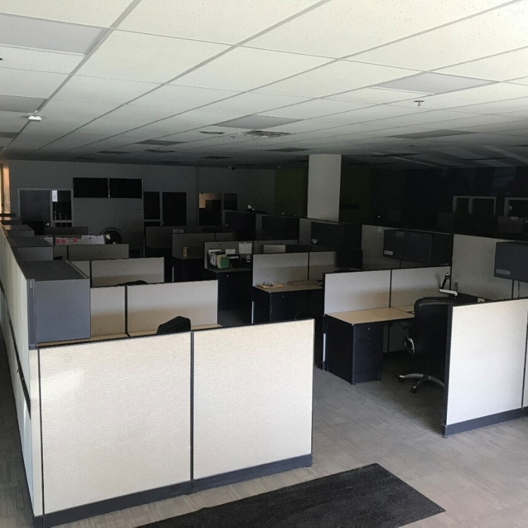Parts of our HQ are eerily quiet, as many of us work remotely…