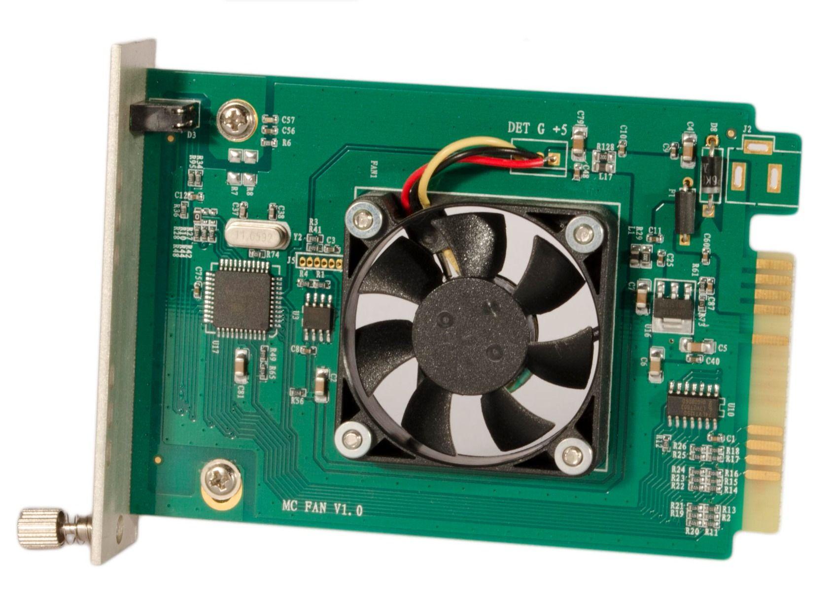 10G Fiber Media Converter Card – SFP+ and RJ45 Ports