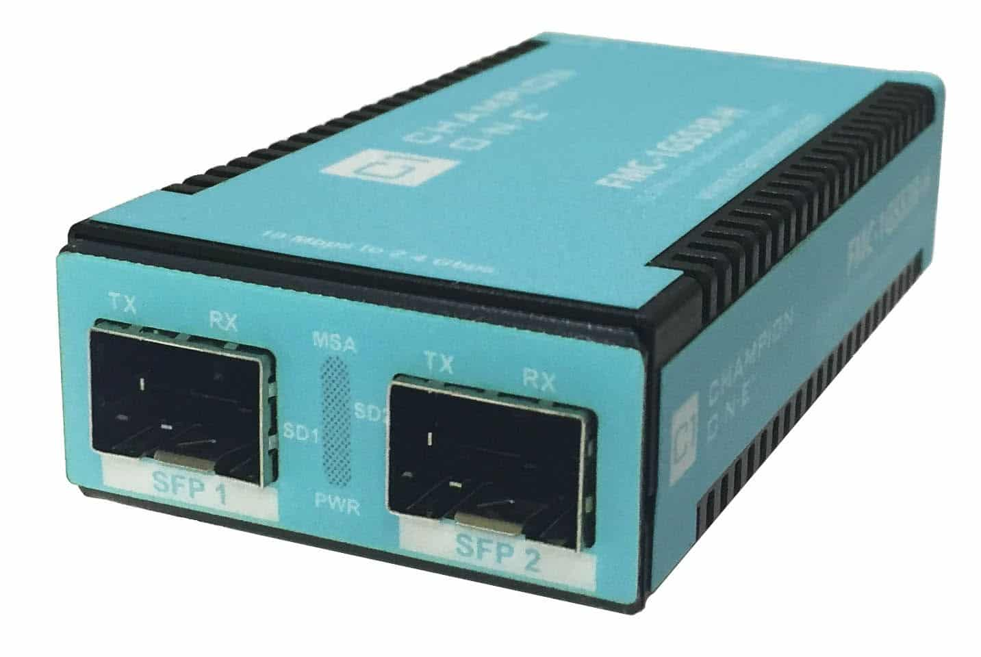10M-2.4G 3R Extender w/ Temp-Hardened Chassis – SFP to SFP