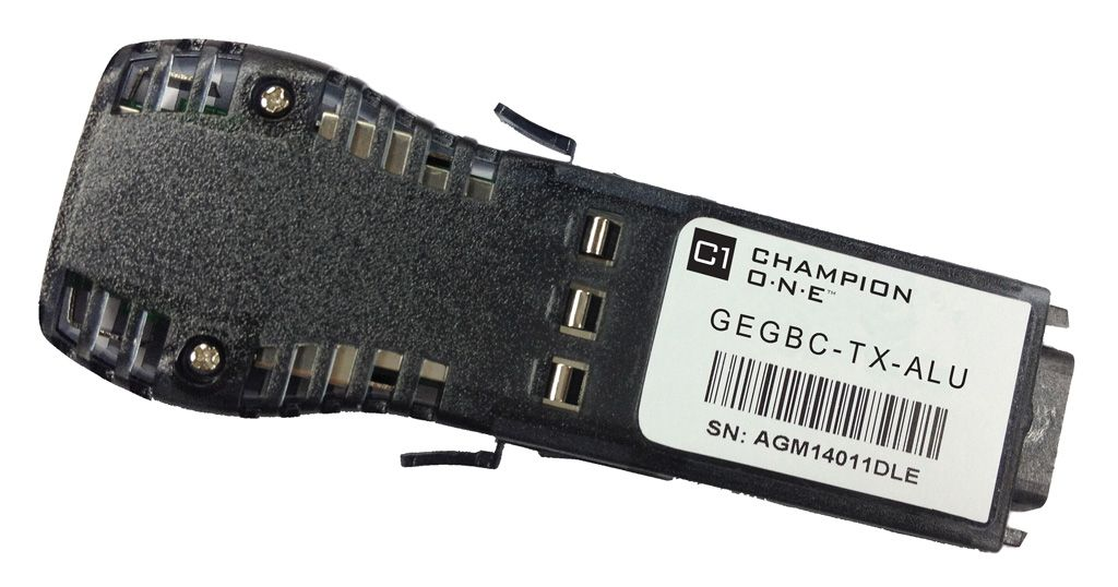 GBIC 1000Base-T 100m Transceiver, Nokia/ALU compatible GBIC-C