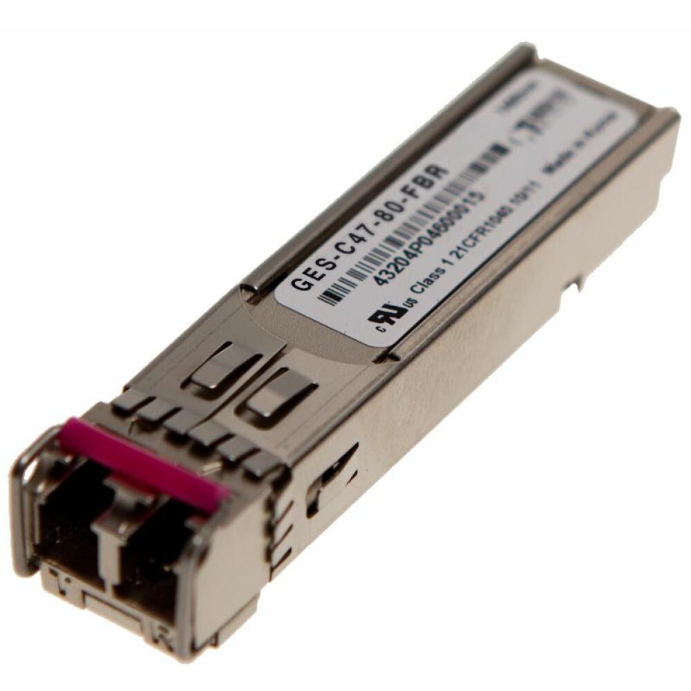 SFP 1000BASE-ZX DWDM CHxx 80km Transceiver
