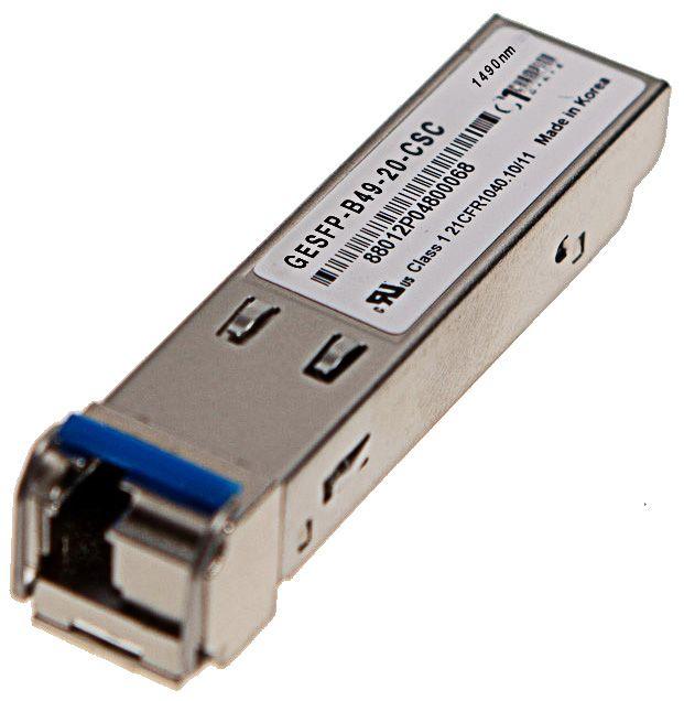 SFP SF 1000Base-BX-D 1490nm 20km Transceiver, Cisco Systems compatible GLC-BX-D