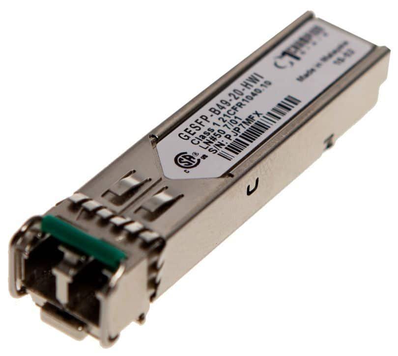 SFP SF 1000Base-BX-D 20km Transceiver, Huawei compatible SFP-GE-LX-SM1490-BIDI
