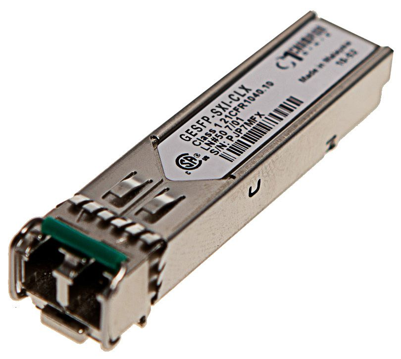 SFP 1000Base-SX 550m I-temp, Calix compatible 100-01660