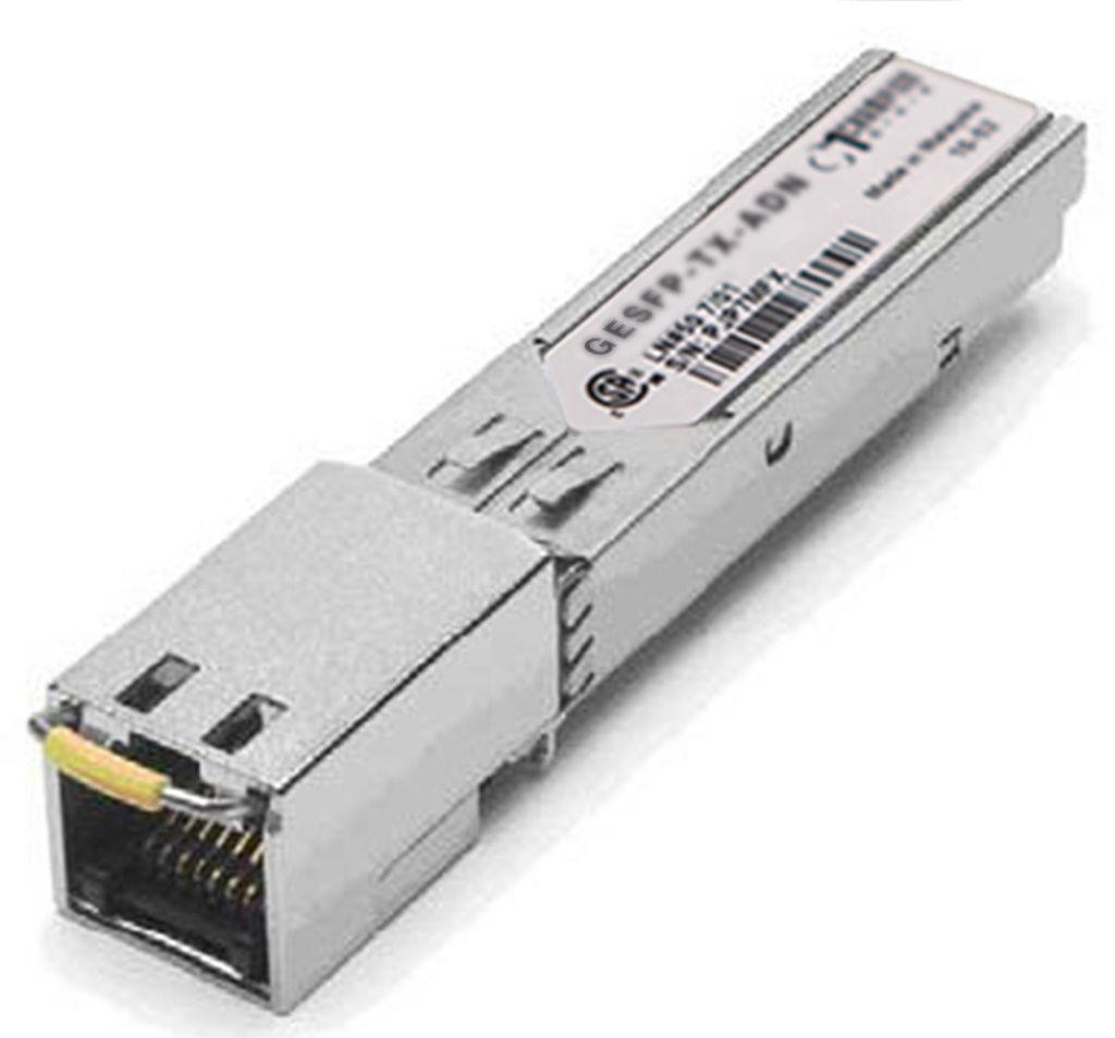 SFP 1000Base-T 100m Transceiver, Adtran compatible 1184561P4