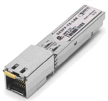 SFP NA 10/100/1000-T 0.1km Transceiver, multi-rate, Linksys compatible MGBT1