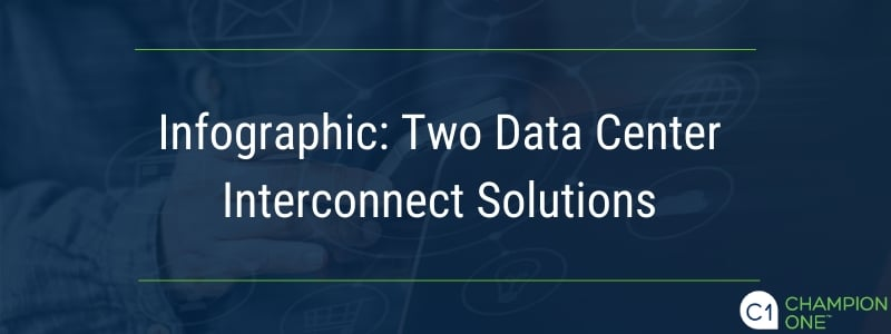 Inforgraphic: Two Data Center Interconnect Solutions