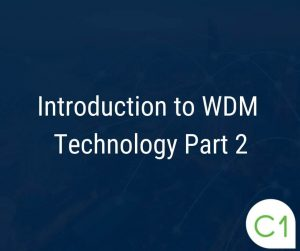 Introduction to WDM part 2