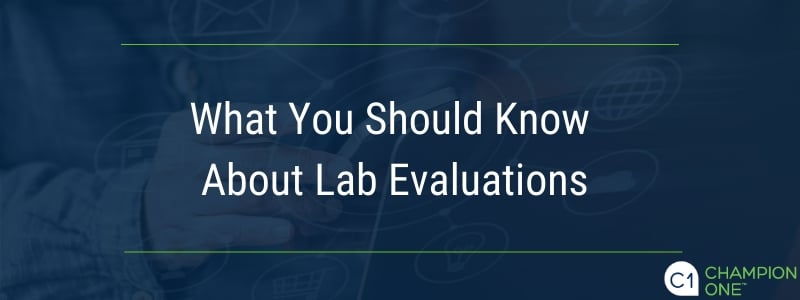 What You Should Know About Lab Evaluations