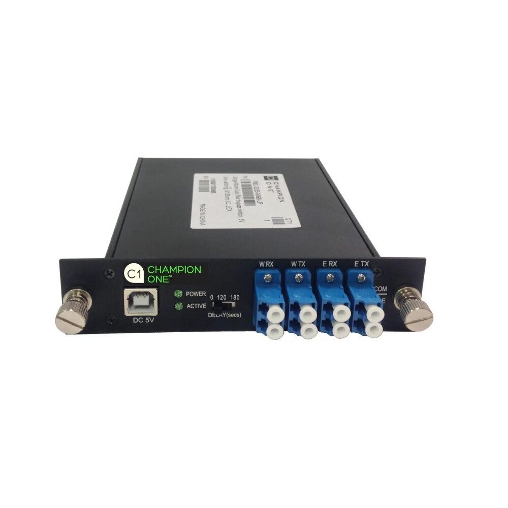Multi-Mode Dual Fiber Optical Bypass Module From Champion ONE