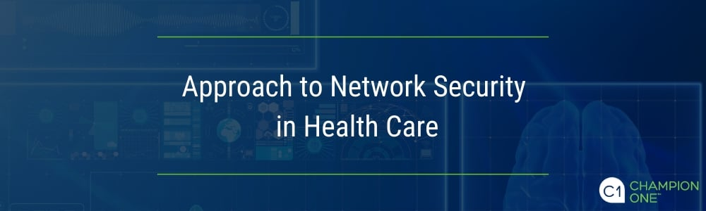 Health care network security, an open network approach