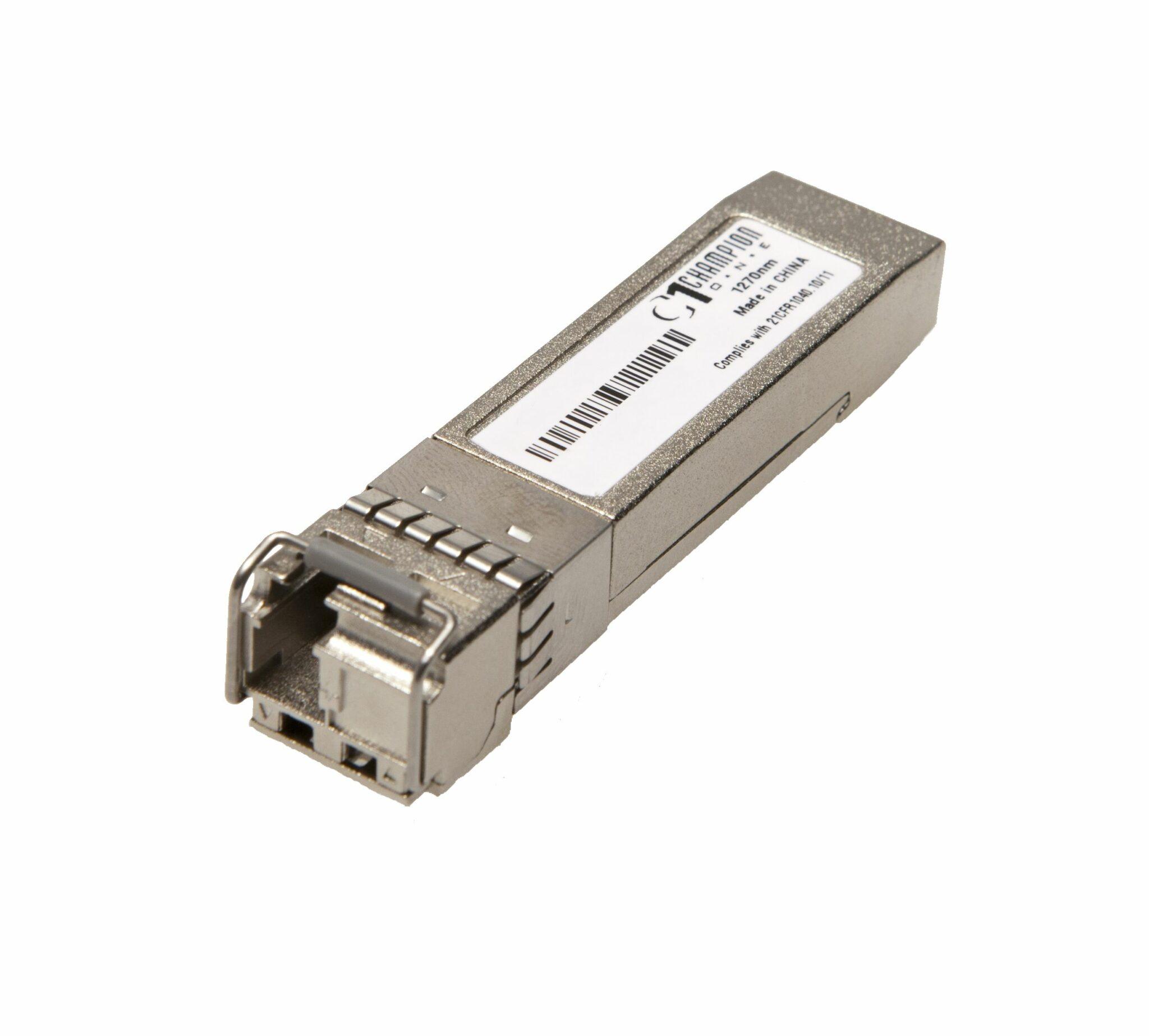 Single Fiber 10GE LAN and WAN, 80km, 10GSFP+E55B80L