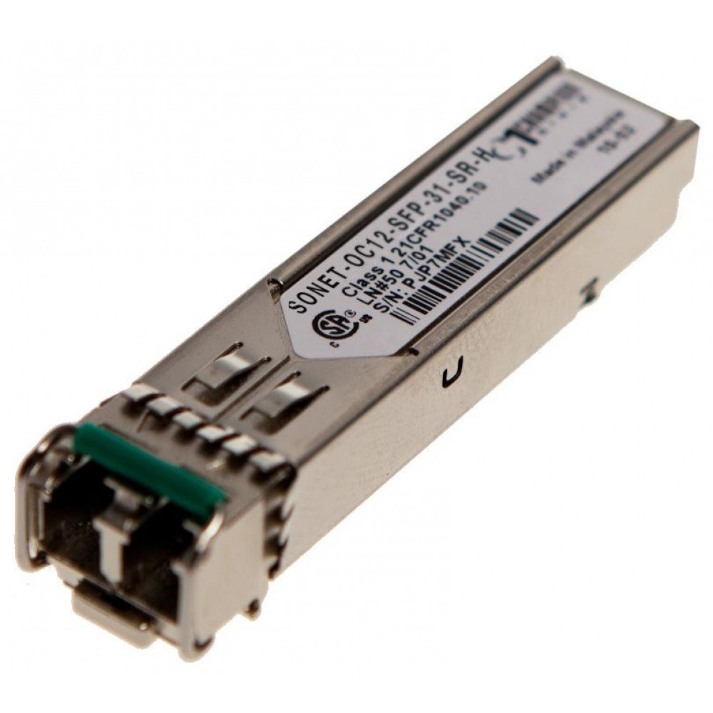 SFP Dual Fiber 2km SONET-OC12-SFP-31-SR-H from Champion ONE