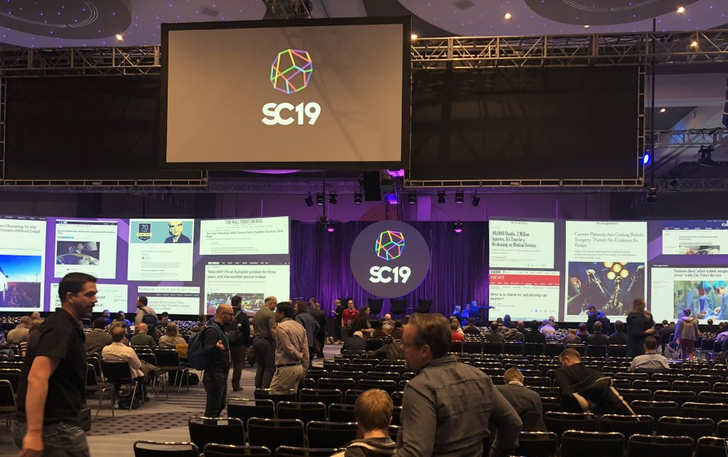 SC19 - International Conference for High Performance Computing, Networking, Storage, and Analysis