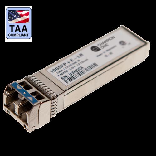 TAA compliant SFP + E LR transceiver