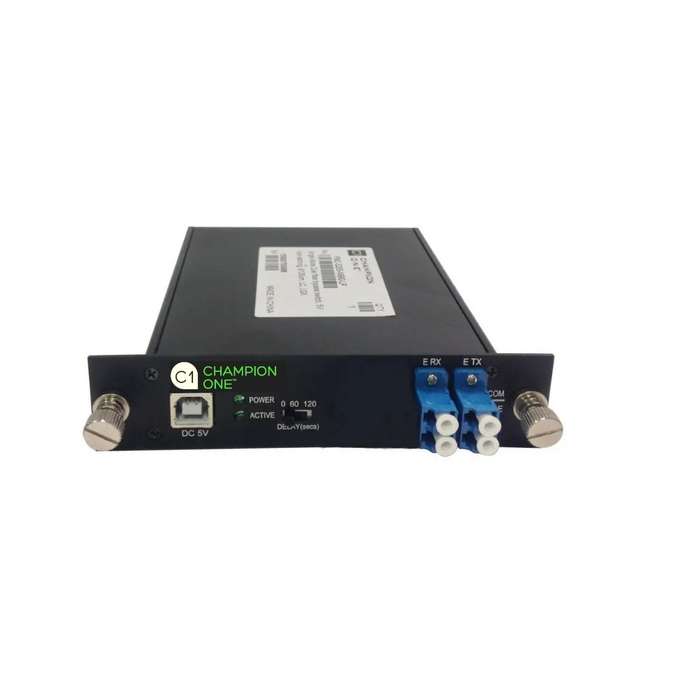 Single Mode Single Fiber Optical Bypass Module From Champion ONE