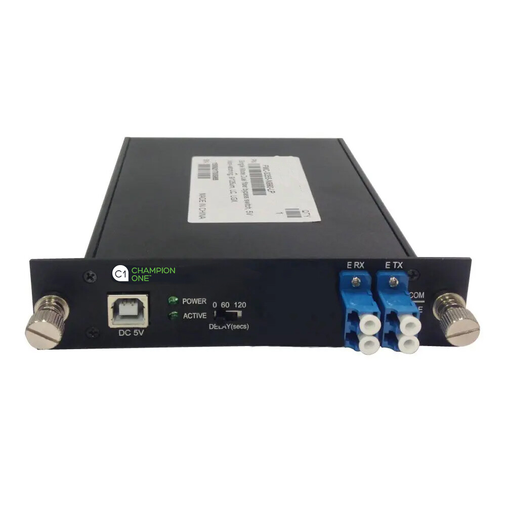 Multi-Mode Single Fiber Optical Bypass Module From Champion ONE