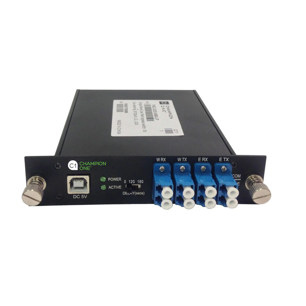 Single Mode Dual Fiber Optical Bypass Module From Champion ONE