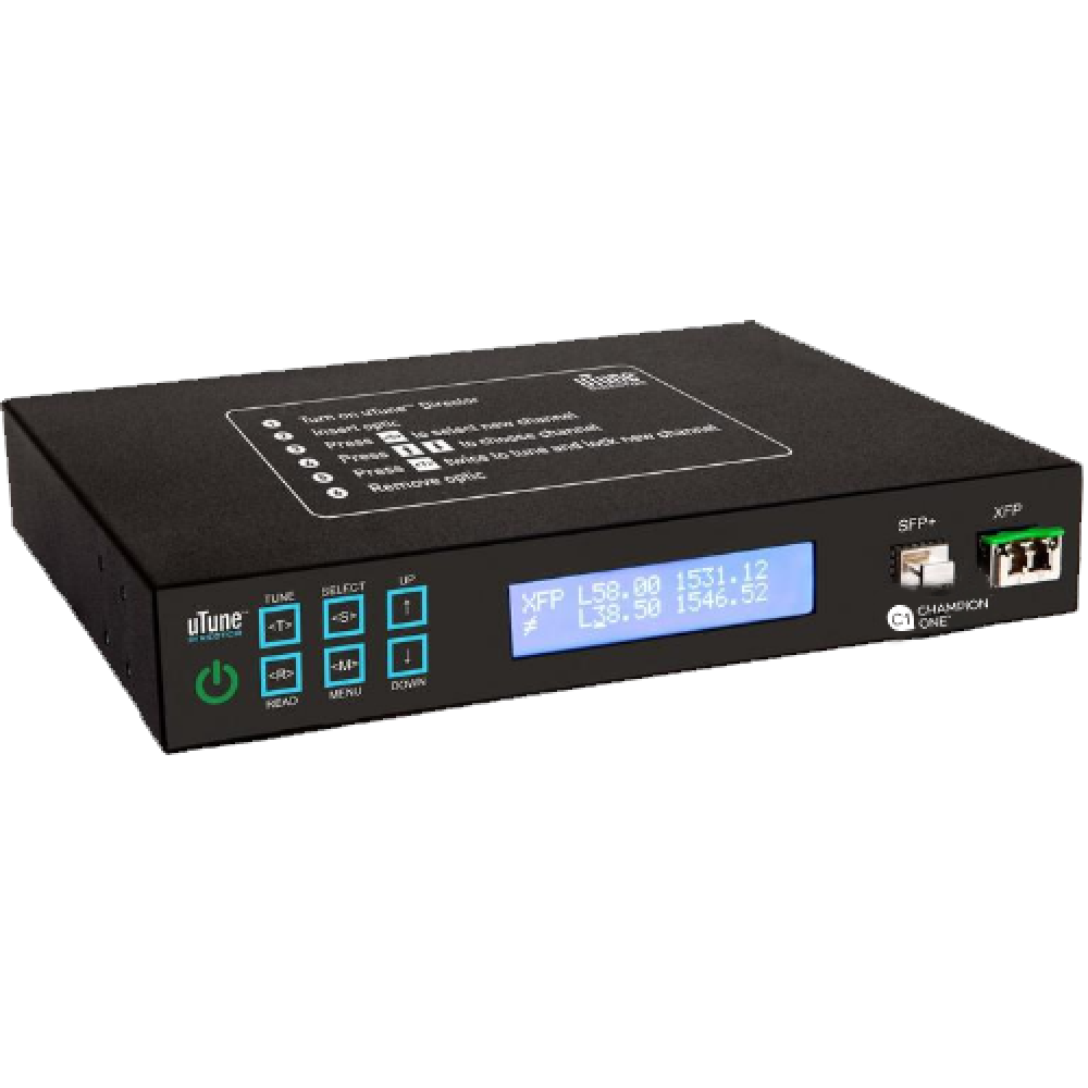uTune Director - Standalone SFP+ and XFP DWDM Tuner From Champion ONE